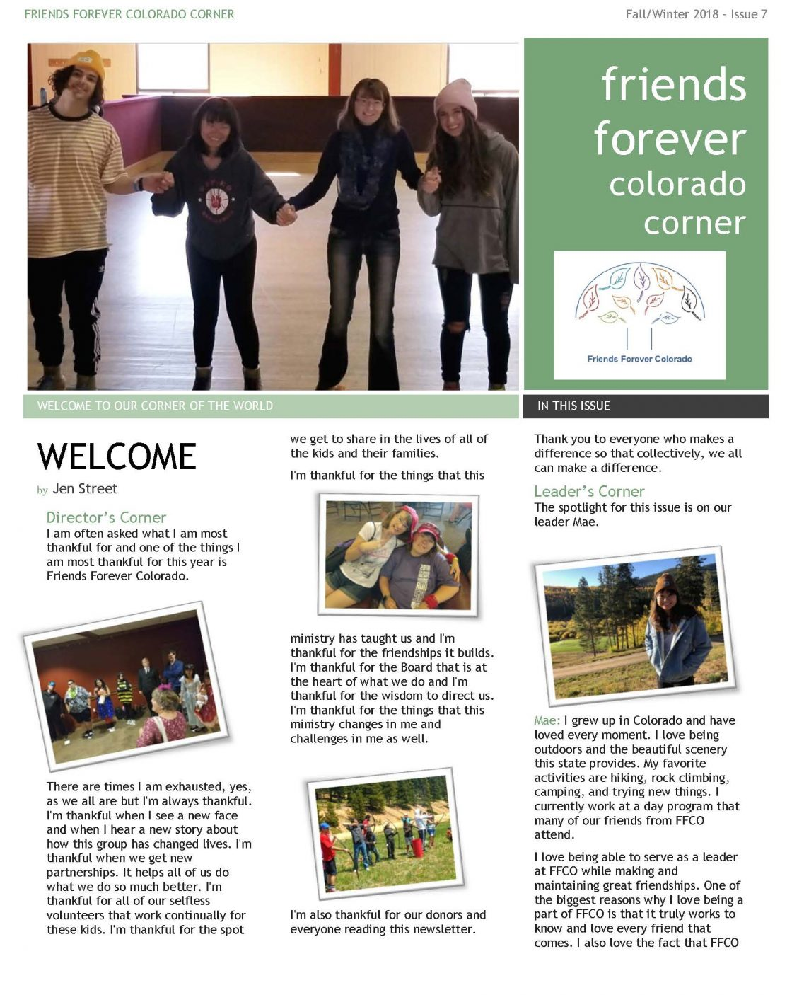 Newsletter Issue 7 - page 1