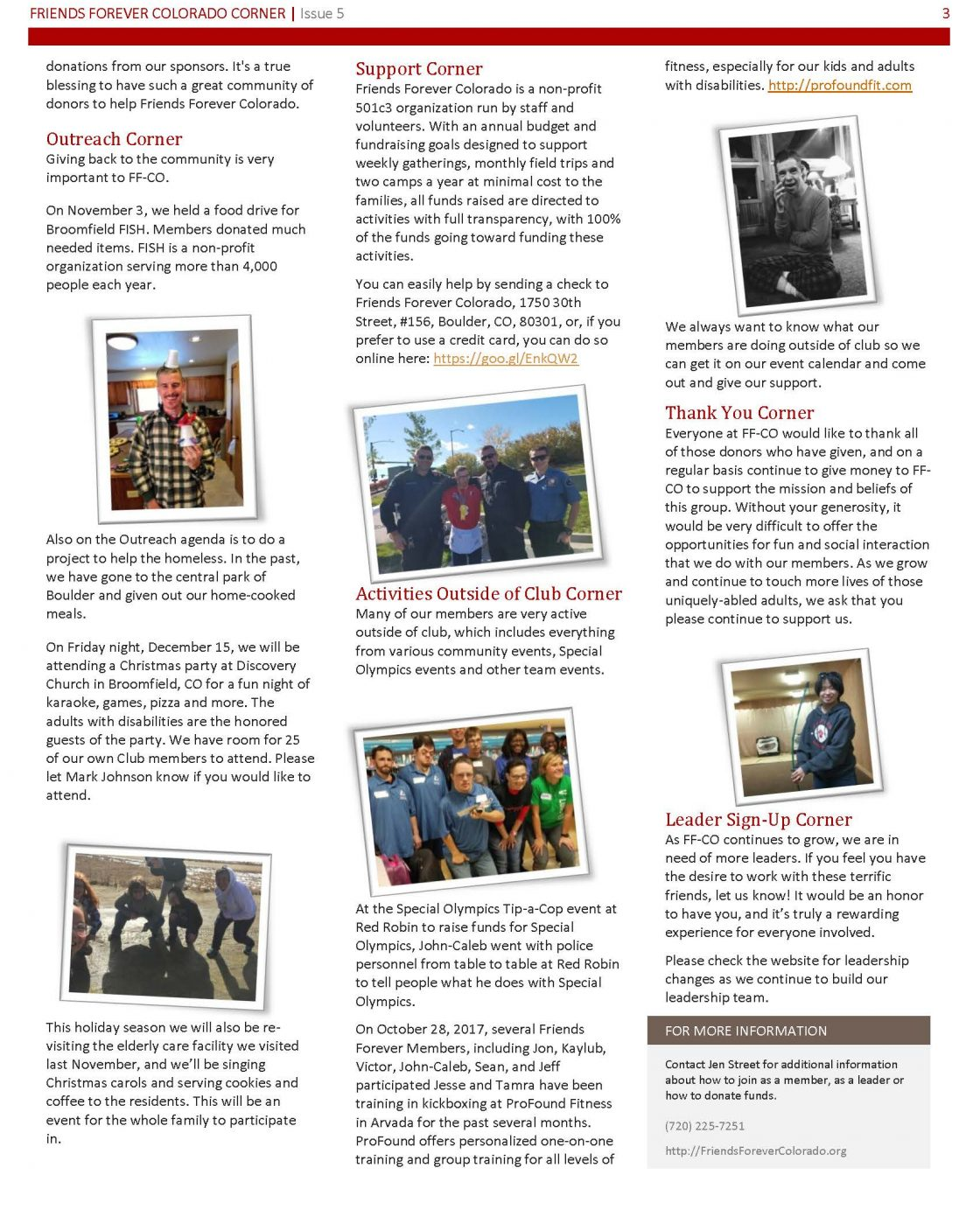 Newsletter Issue 5 - page 3