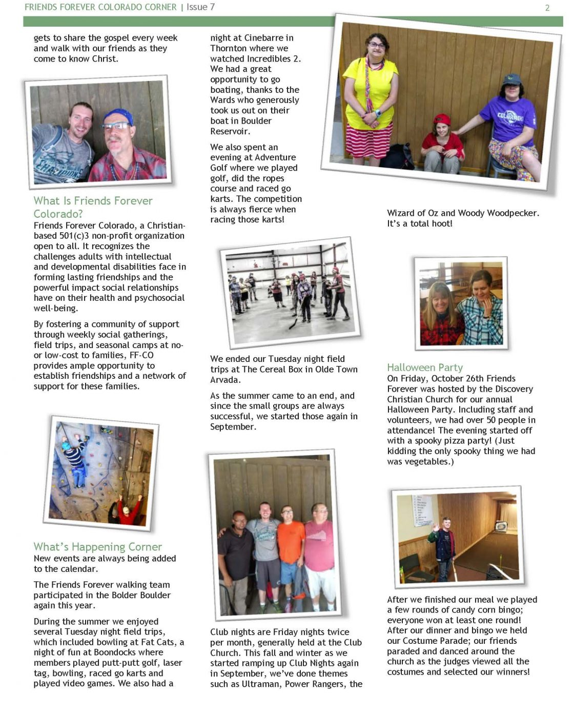 Newsletter Issue 7 - page 2
