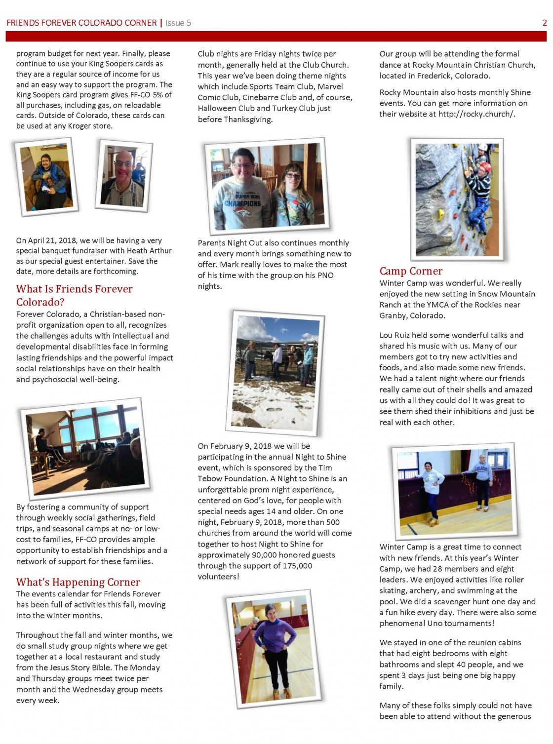 Newsletter Issue 5 - page 2