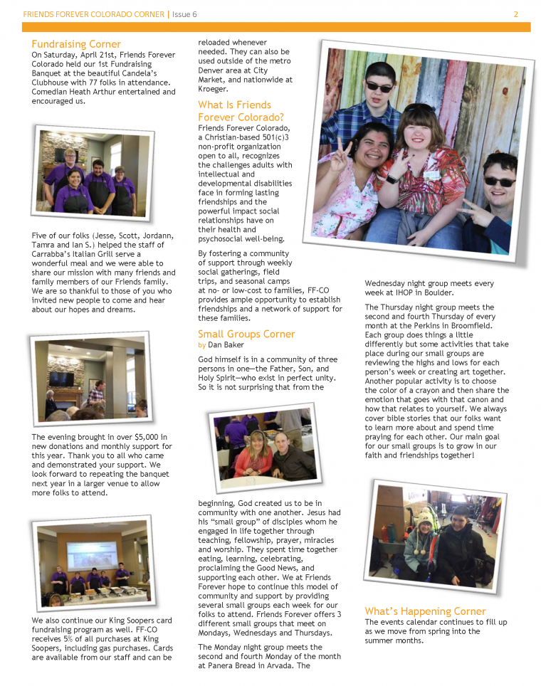Newsletter Issue 6 - page 2