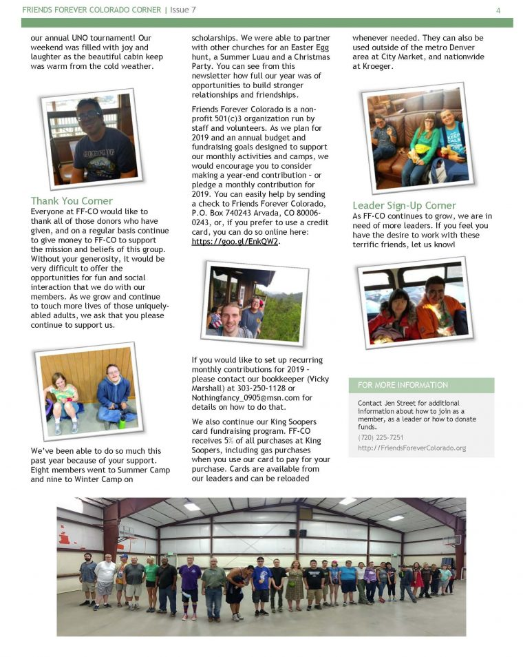 Newsletter Issue 7 - page 4