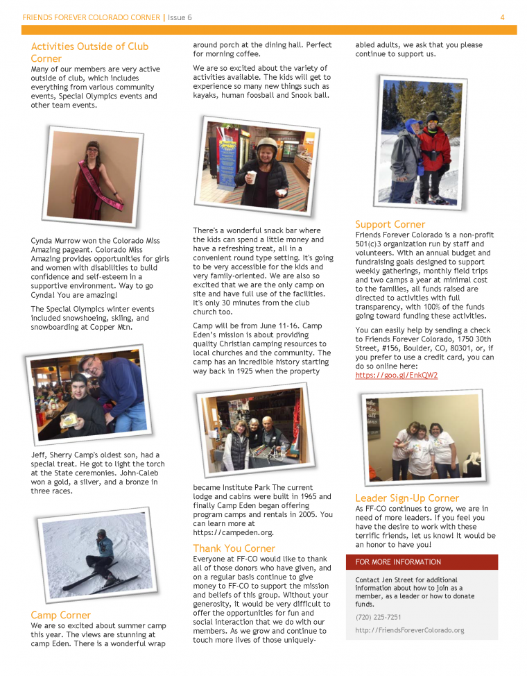 Newsletter Issue 6 - page 4