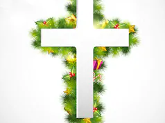 Christmas cross