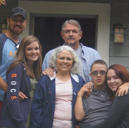 Vicky Marshall family